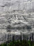 Πέτρινο μνημείο βουνών Στοκ φωτογραφία με δικαίωμα ελεύθερης χρήσης