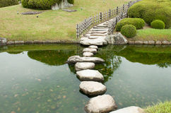 Πέτρινο μονοπάτι zen Στοκ Φωτογραφίες
