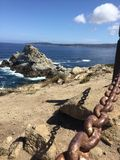 Πέτρινο νησί Στοκ φωτογραφία με δικαίωμα ελεύθερης χρήσης