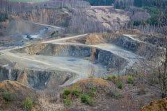 Πέτρινο ορυχείο στοκ φωτογραφίες