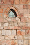 Πέτρινο παράθυρο μιας γοτθικής εκκλησίας Στοκ εικόνες με δικαίωμα ελεύθερης χρήσης