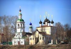 Πέτρινο παρεκκλησι, Ορθόδοξη Εκκλησία, Ρωσία Στοκ Εικόνα