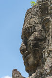 Πέτρινο πρόσωπο στο ναό Bayon, Angkor Wat, Καμπότζη Στοκ Εικόνα