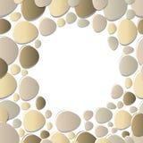 Πέτρινο στρογγυλό πλαίσιο, Στοκ φωτογραφία με δικαίωμα ελεύθερης χρήσης
