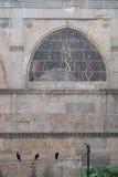 Πέτρινο συρματόπλεγμα σε ένα μουσουλμανικό τέμενος του Ahmedabad, Ινδία Στοκ εικόνες με δικαίωμα ελεύθερης χρήσης