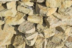 Πέτρινο υπόβαθρο, σύσταση πετρών χαλικιών, πολύχρωμο υπόβαθρο πετρών Στοκ Εικόνα