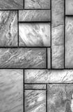 Πέτρινο υπόβαθρο τοίχων σε γραπτό Στοκ εικόνα με δικαίωμα ελεύθερης χρήσης