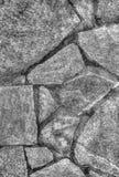 Πέτρινο υπόβαθρο τοίχων σε γραπτό Στοκ Εικόνες