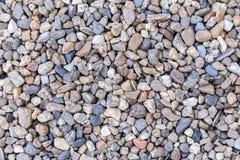 Πέτρινο υπόβαθρο χαλικιών σύστασης ή πετρών χαλικιών Στοκ Εικόνες