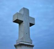 Πέτρινο crucifix στοκ φωτογραφίες