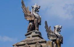 Πέτρινο Griffins Στοκ φωτογραφίες με δικαίωμα ελεύθερης χρήσης