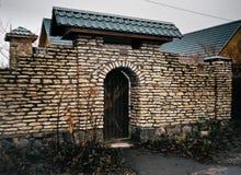 Πέτρινο patio στοκ εικόνες με δικαίωμα ελεύθερης χρήσης