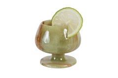Πέτρινο wineglass Στοκ φωτογραφίες με δικαίωμα ελεύθερης χρήσης