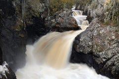 Πέφτοντας απότομα ποταμός Στοκ Εικόνα