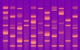 Πήκτωμα ακολουθίας DNA Στοκ Φωτογραφία