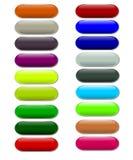 πήκτωμα κουμπιών Στοκ εικόνες με δικαίωμα ελεύθερης χρήσης