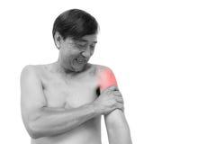Πίεση μυών Στοκ εικόνες με δικαίωμα ελεύθερης χρήσης