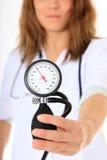 πίεση νοσοκόμων μετρητών ε&k Στοκ φωτογραφία με δικαίωμα ελεύθερης χρήσης