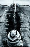 πίεση προσώπων κάτω Στοκ φωτογραφία με δικαίωμα ελεύθερης χρήσης