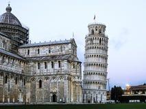 Πίζα - Ιταλία - ο εκκρεμής πύργος Στοκ Φωτογραφίες