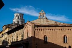 Πίζα, Ιταλία, στις 26 Φεβρουαρίου 2017: Ο κλίνοντας πύργος της Πίζας Στοκ Εικόνες