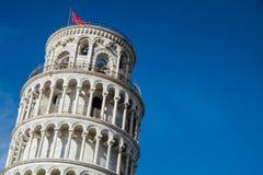 Πίζα, Ιταλία, στις 26 Φεβρουαρίου 2017: Ο κλίνοντας πύργος της Πίζας Στοκ Φωτογραφίες