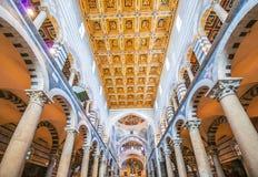 Πίζα - 23 Μαρτίου 2014: Καθεδρικός ναός της Πίζας στις 23 Μαρτίου Στοκ Εικόνα
