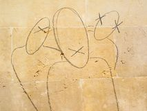 πίθηκοι τρία σοφοί Στοκ Εικόνα