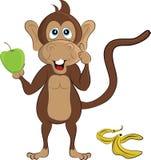 Πίθηκος κινούμενων σχεδίων ελεύθερη απεικόνιση δικαιώματος