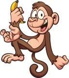 Πίθηκος κινούμενων σχεδίων στοκ εικόνα με δικαίωμα ελεύθερης χρήσης