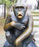 Πίθηκος-πίθηκος μετάλλων Στοκ φωτογραφία με δικαίωμα ελεύθερης χρήσης