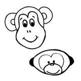 Πίθηκος συγκινήσεων - χαμόγελο Στοκ φωτογραφία με δικαίωμα ελεύθερης χρήσης