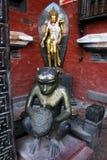 Πίθηκος χαλκού Στοκ Φωτογραφίες