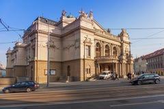 Πίλζεν, Τσεχία - 02/08/2018: Το θέατρο JK Tyl Στοκ Εικόνες