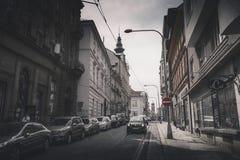 ΠΊΛΖΕΝ PLZEN, ΔΗΜΟΚΡΑΤΊΑ ΤΗΣ ΤΣΕΧΊΑΣ - 22 ΜΑΐΟΥ 2017: Άποψη Zbrojnick Στοκ φωτογραφία με δικαίωμα ελεύθερης χρήσης