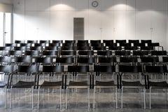 πίνακας αιθουσών συνεδριάσεων των διασκέψεων εδρών Στοκ Φωτογραφία