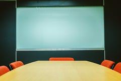 πίνακας αιθουσών συνεδριάσεων των διασκέψεων εδρών Στοκ εικόνα με δικαίωμα ελεύθερης χρήσης