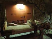 Πίνακας βασανιστηρίων στοκ φωτογραφία