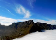 πίνακας βουνών Στοκ Φωτογραφίες