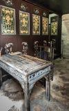 Πίνακας γραμματέων Tai Fu Tai στο προγονικό σπίτι, Χονγκ Κονγκ Κίνα στοκ φωτογραφίες με δικαίωμα ελεύθερης χρήσης