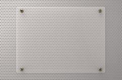 Πίνακας γυαλιού ή ακρυλικός πίνακας Στοκ φωτογραφίες με δικαίωμα ελεύθερης χρήσης