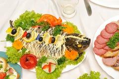 πίνακας διακοπών τροφίμων ν Στοκ Εικόνες