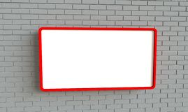 πίνακας διαφημίσεων Στοκ Εικόνες