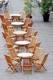 πίνακας εδρών ξύλινος Στοκ Φωτογραφία