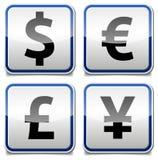 Πίνακας εικονιδίων χρημάτων Στοκ Εικόνες