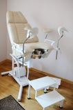 Πίνακας εξέτασης στην κλινική στοκ εικόνες με δικαίωμα ελεύθερης χρήσης