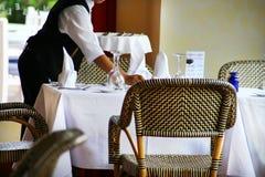 πίνακας εστιατορίων τρόπου Στοκ Εικόνες