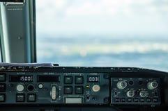 Πίνακας ελέγχου αεροσκαφών στοκ φωτογραφία