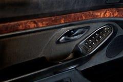 Πίνακας ελέγχου armrest του αυτοκινήτου Στοκ εικόνα με δικαίωμα ελεύθερης χρήσης