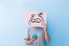 Πίνακας διαφημίσεων έκφρασης κραυγής εκμετάλλευσης ατόμων Στοκ φωτογραφία με δικαίωμα ελεύθερης χρήσης